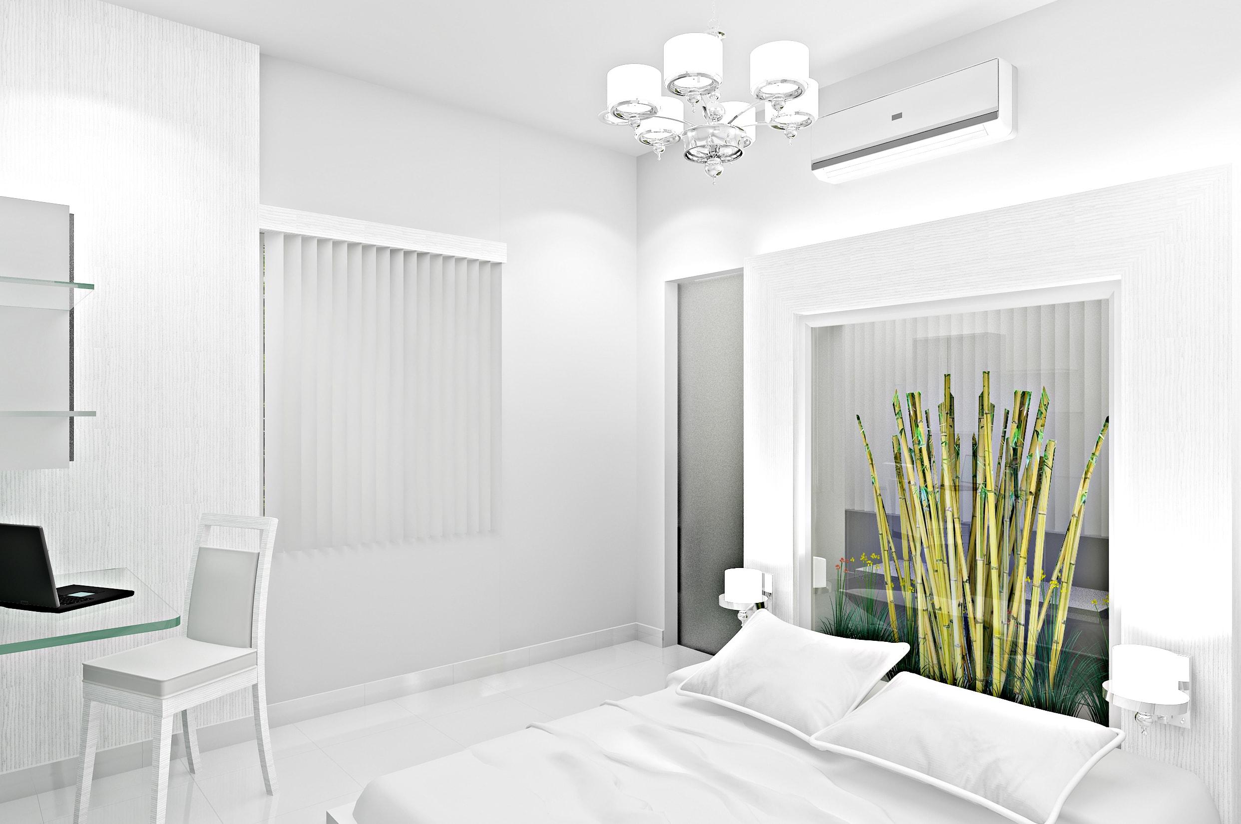 conception de chambre avec la nature à l'interieur